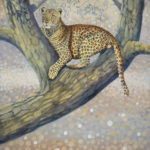 Leopard Spots painting by Lee Mims